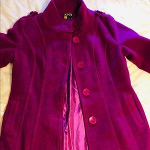 Jackets & Blazers - Like new pink wool coat